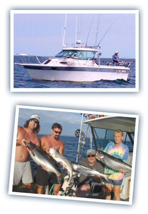 fishing charters near Oswego